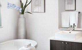 6x6 Soho White Glossy Wall Tile
