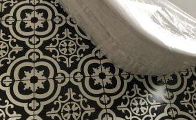 Bathroom Patterned Tiles